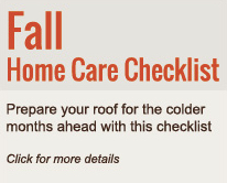 Fall Home Care Checklist - home improvement services