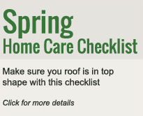 Spring Home Care Checklist - home improvement services